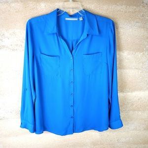 Valerie Steven's Shirt Sz XL long Sleeve